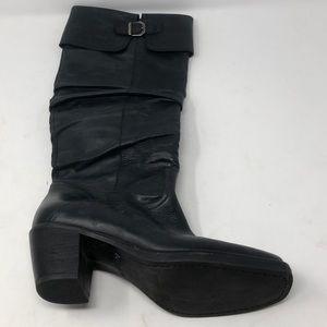 Via Spiga Italian Made Leather Calf Boots Size 7.5